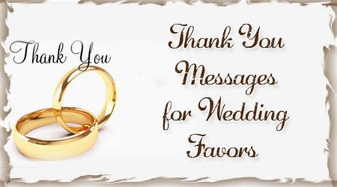 Wedding Wishes Thank You Messages by Thank You Messages For Wedding Favors