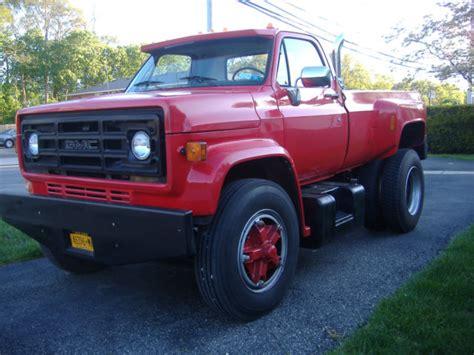 1986 gmc 7000 dually hauler custom