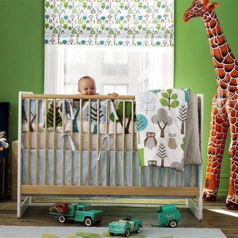 Dwell Crib Sheets by Baby Bump Nursery Idea Dwellstudio Owl Crib Set