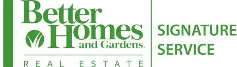 better homes better homes and gardens real estate signature service