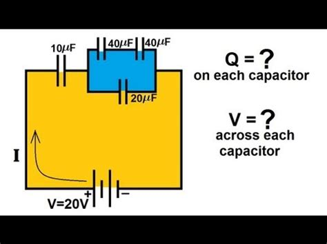 scientific definition of capacitor physics capacitors 6 of 8 capacitors in series and parallel 4 4