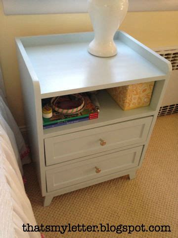 2 drawer nightstand diy that s my letter diy mod nightstand