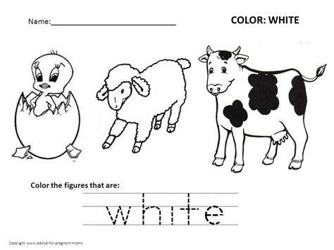 Free Preschool Worksheets For Learning Colors Advice For Pregnant Moms Preschool Colors Worksheet