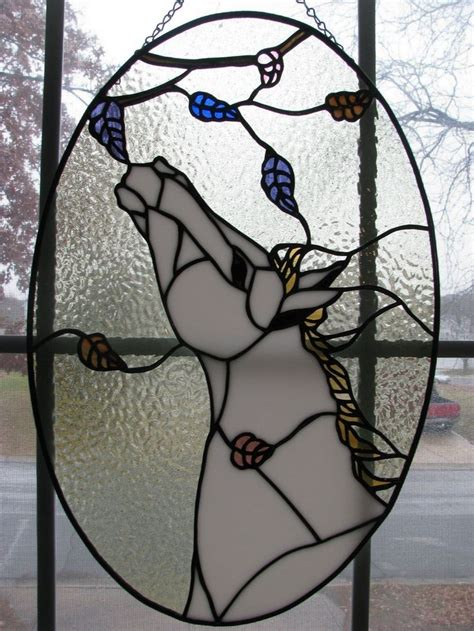 113 Best Stained Glass Horses Images On Pinterest
