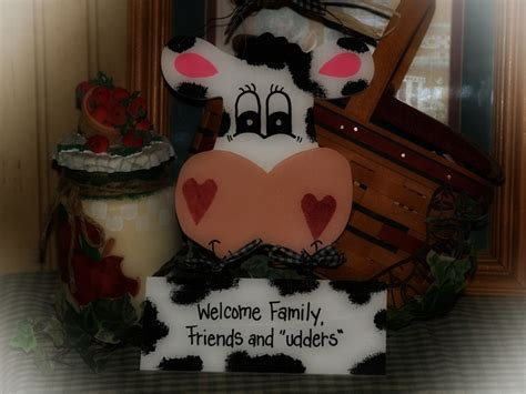 cow decor for kitchen 78 best images about farm on