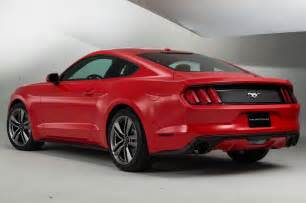 Ford Mustang 2015 Gt 2015 Ford Mustang Rear View Photo 10
