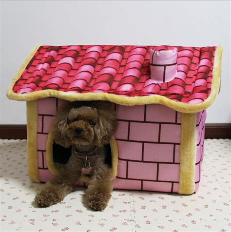 soft dog house bed pet dog house large dog bed cat bed soft brick wall style pet house large dog bed