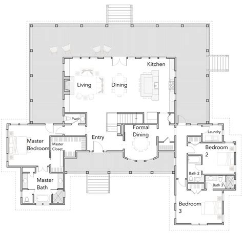 large open kitchen floor plans best 25 open floor plan homes ideas on pinterest