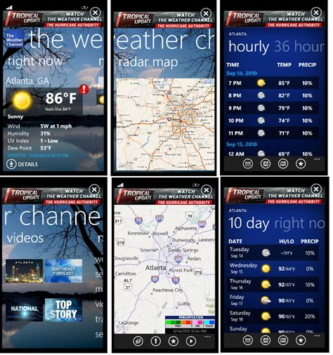 the weather channel mobile the weather channel windows central