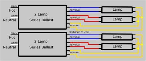 t12 ballast wiring diagram light ballast wiring diagrams 2
