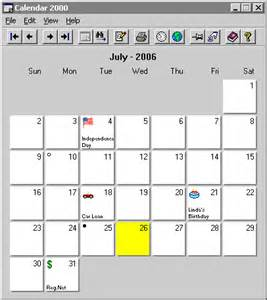 Small Desktop Monthly Calendar Free Printable Monthly Calendar Software