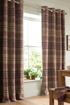 next red check curtains buy curtains and blinds curtains red check eyelet from the