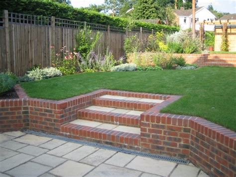 garden designs for small sloping gardens garden design
