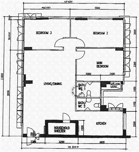hdb floor plans floor plans for jalan membina hdb details srx property