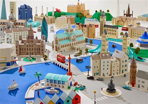 How To Make A 3d Paper City - hattie newman s delightful paper cities amusing planet