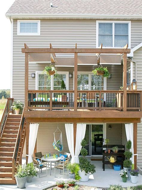 1st Floor Veranda Design by Best 25 Second Story Deck Ideas On