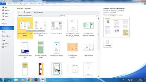 membuat brosur dengan ms word cara gang membuat brosur dengan microsoft word
