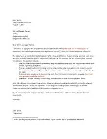 technical cover letters template 2 technical cover letter