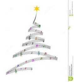 music christmas tree stock illustration image of symbols