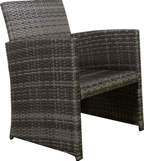 GHP 4pc Gray Rattan Wicker Outdoor Patio Furniture Set