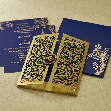 wedding invitation cards designs in bangalore parekh cards mf2363 in