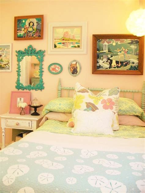 pastel vintage bedroom vintage 1950s inspired pastel bedroom with paint by