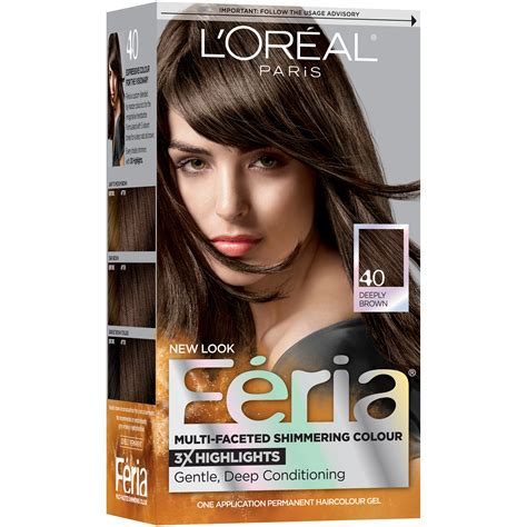 image gallery l oreal feria l oreal feria 174 multi faceted shimmering colour hair