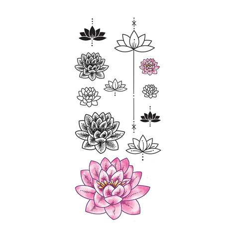 tattoos de flores lotus lotus flower models picture