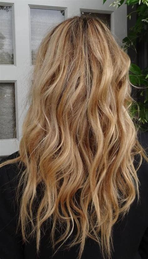 beach waves perm long hair thinking of guetting a light perm just to get the beach