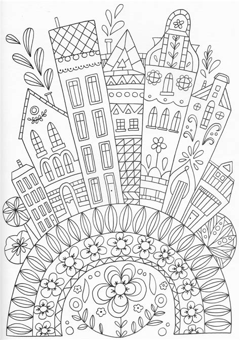 zentangle pattern kule scandinavian coloring book pg 32 color pages stencils