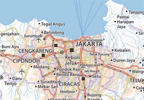 jakarta pusat map jakarta map detailed maps for the city of jakarta