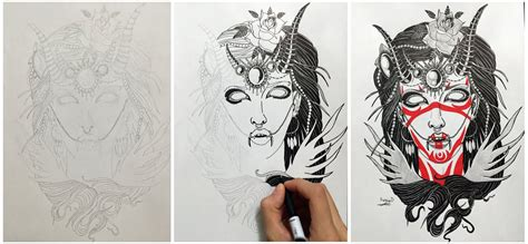 demon girl tattoo designs the gallery for gt designs