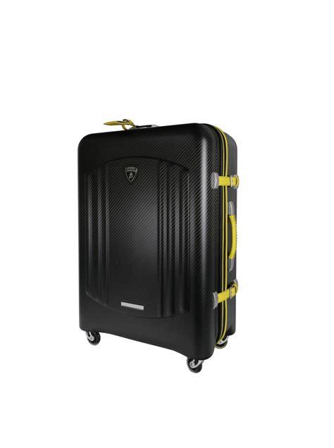 Lamborghini Suitcase Tecknomonster Carbon Fiber Bynomio Suitcase By Lamborghini