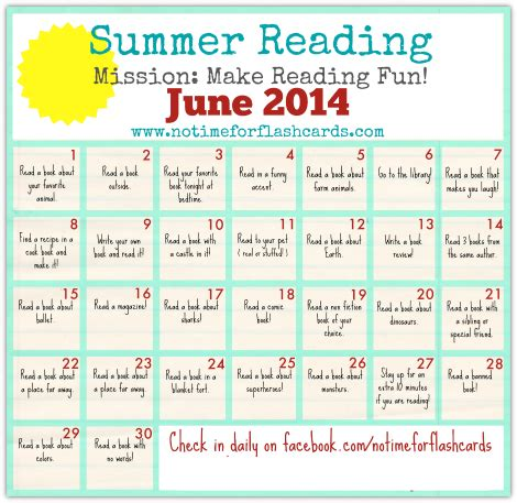 a summer s reading themes summer reading calendar free printables calendar june