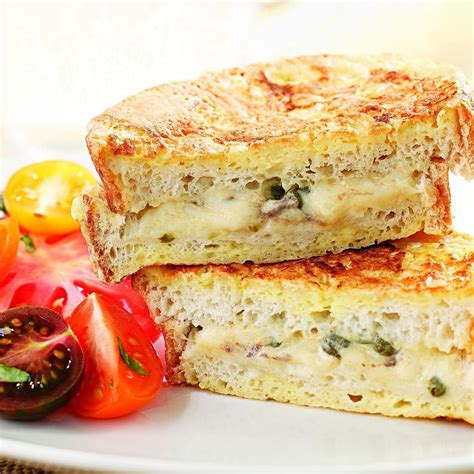 Mozzarella En Carrozza - mozzarella en carrozza recipe eatingwell