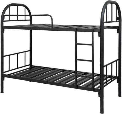 Heavy Duty Metal Bunk Beds Aft Heavy Duty Bunk Bed Black 168 X 90 X 190cm Price Review And Buy In Dubai Abu Dhabi And
