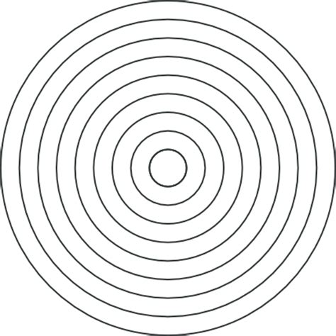 10 Concentric Circles Pictures To Pin On Pinterest Pinsdaddy Concentric Circle Template