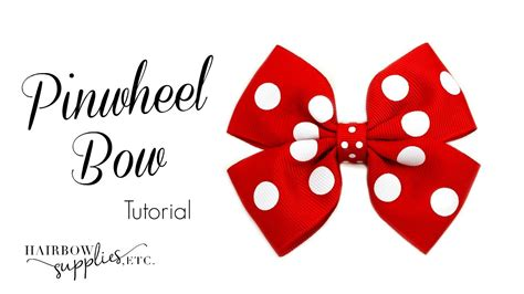 pinwheel bow template how to make a pinwheel hair bow