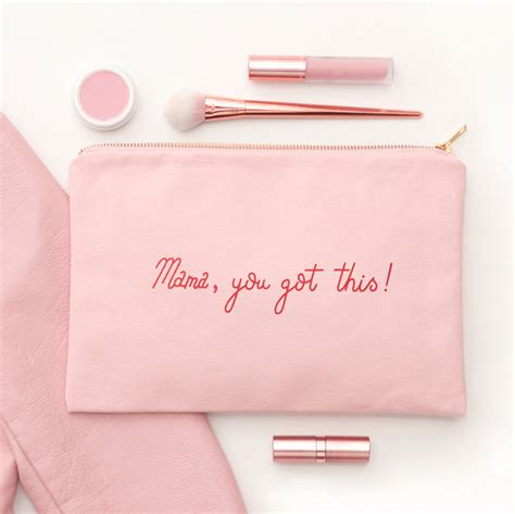 Pink Pouch you got this blush pink pouch by alphabet bags