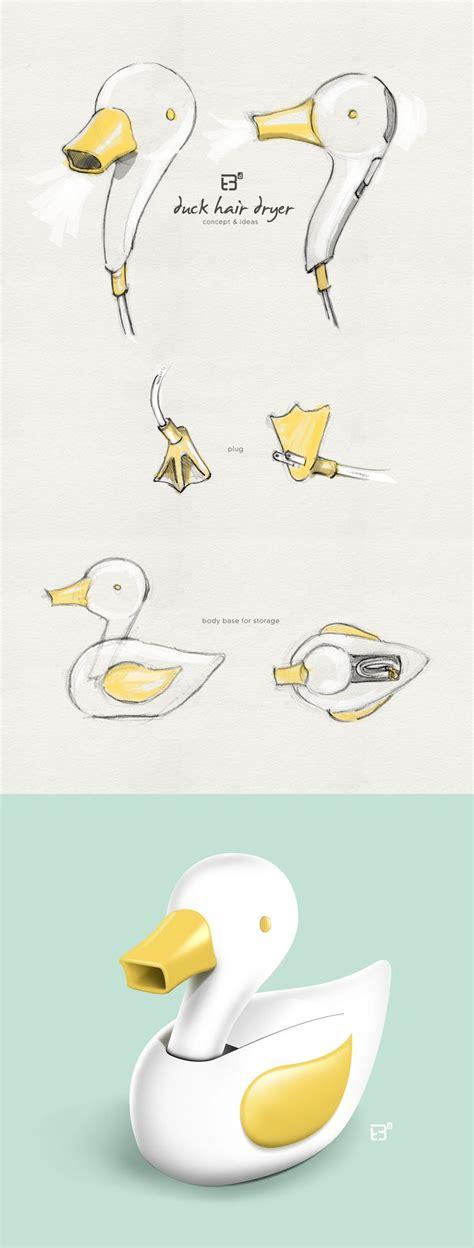 Hair Dryer Duck duck hair dryer concept ideas product design work