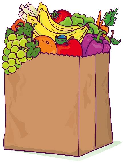 grocery bag clipart buncombe county 4 h is hungry to help clover gazette