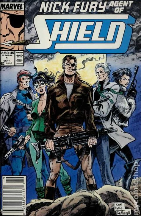 the fury books nick fury of shield 1989 3rd series comic books