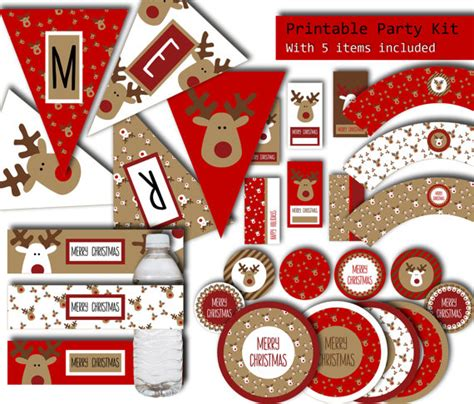 free printable christmas party decorations my favorite holiday party supplies printables and gifts