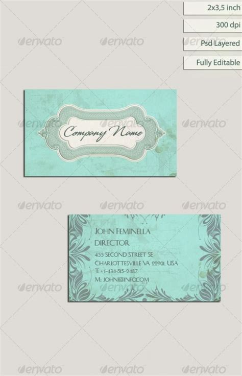 free shabby chic business card templates 1000 images about shabby chic vintage on