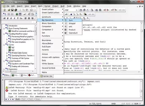 best latex editor what is the best tex latex gui for windows quora