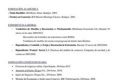 Modelo Curriculum Jefe De Ventas Modelo De Cv Corto Para Ventas Y Mercadeo Paperblog