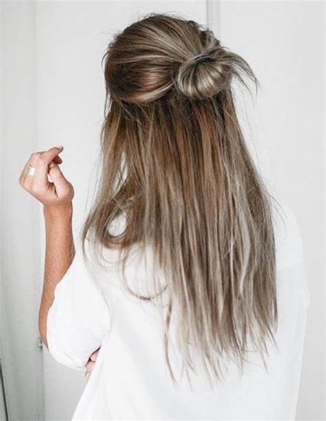 hairstyles for long straight hair tied up 9 5 minute hairstyles for long hair lazy hair lazy and