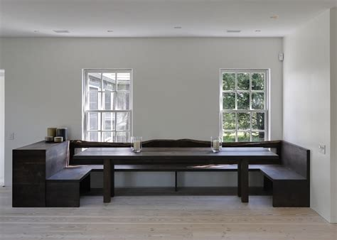 Built In Dining Room Bench Benches With Backs Dining Room Contemporary With Bench