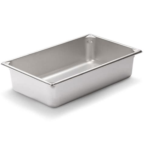 vollrath pan v 30042 size anti jam stainless