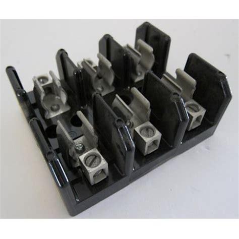 Fuse Holder Rt18m 63 Din Rail Mounting Wo L bussmann j60030 3cr j600 series fuse block 1 2 30